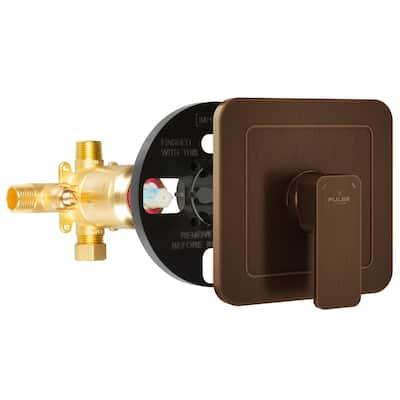 Tru-Temp Pressure Balance in. Rough-In Valve with Oil-Rubbed Bronze Trim Kit