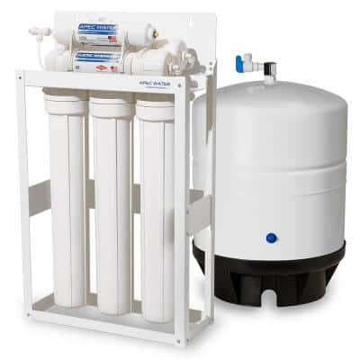 Ultimate Indoor Reverse Osmosis 180 GPD Commercial-Grade Drinking Water Filtration System