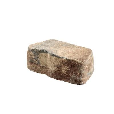 Mini Beltis 3 in. H x 8 in. W x 4 in. D Oak Run Concrete Retaining Wall Block Pallet (378-Piece/Pallet)