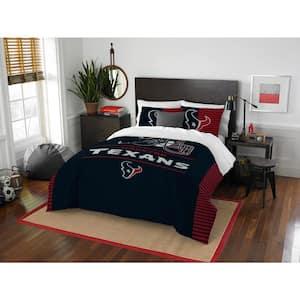 Texans 3-Piece Multicolored Full Comforter Set