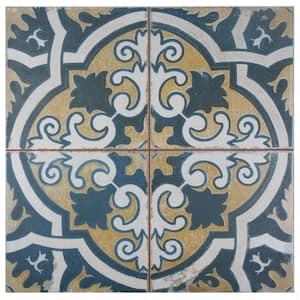 Kings Canarsie Encaustic 17-5/8 in. x 17-5/8 in. Ceramic Floor and Wall Tile (11.02 sq. ft./Case)