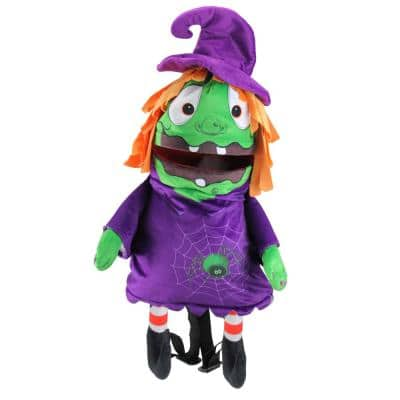 23 in. Musical Animated Witch Children's Halloween Trick or Treat Bag