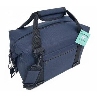20.3 Qt. Soft Cooler with Strap in Navy (12-Pack)
