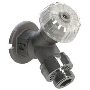 1/2 in. x 1/2 in. MPT x Female Sweat x Close Coupled Mild Climate Sillcock with 34HF Vacuum Breaker