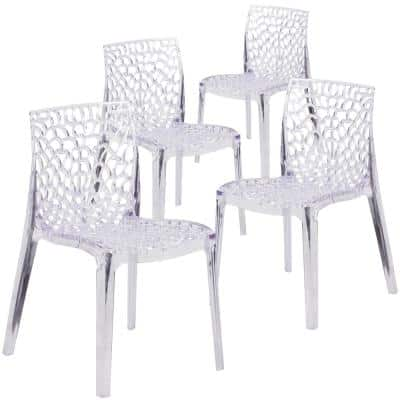 Clear Ghost Chairs (Set of 4)