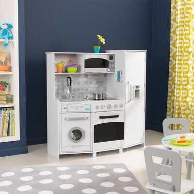 White Large Play Kitchen