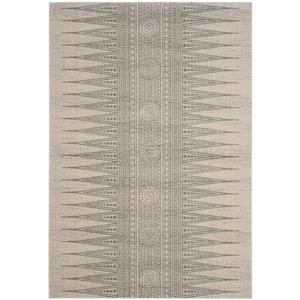 Evoke Ivory/Silver 5 ft. x 8 ft. Area Rug