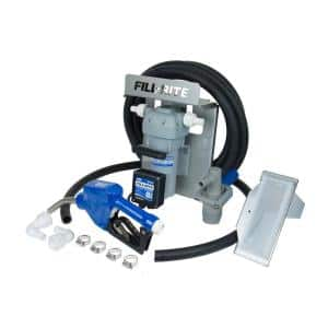 1/4 HP 12-Volt 8 GPM DEF Transfer Pump with Tote Accessories