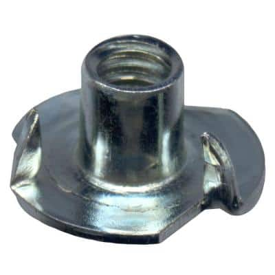 1/4 in.-20 Zinc Plated Tee Nut (4-Pack)