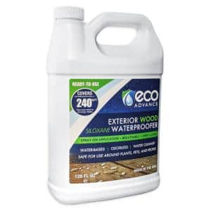 1 Gal. Clear Penetrating Siloxane Exterior Wood Water Repellent Sealer Concentrate (Ready-to-Use)