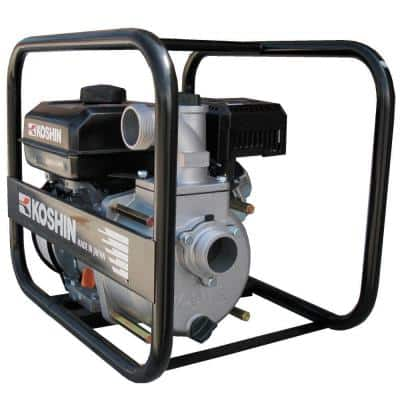 3 in. 6 HP Semi-Trash Pump with Engine