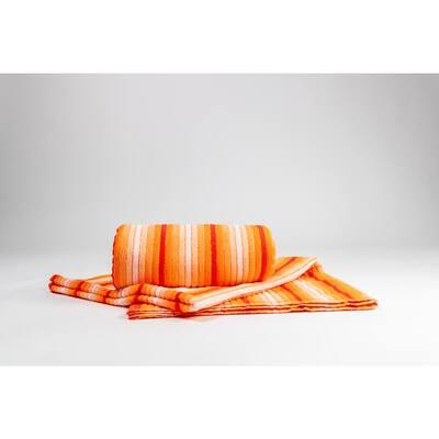 Ripple Mango 100% Cotton Beach Towel (2-Pack)