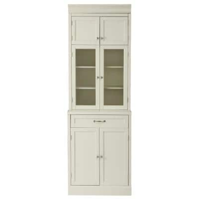 Royce True White 1-Drawer Modular Cabinet