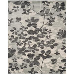 Evoke Grey/Black 8 ft. x 10 ft. Area Rug