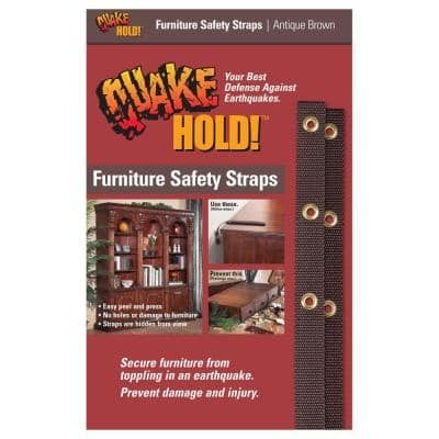 Antique Brown Nylon Furniture Safety Strap