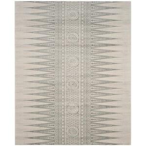 Evoke Ivory/Silver 8 ft. x 10 ft. Area Rug