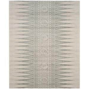 Evoke Ivory/Silver 9 ft. x 12 ft. Area Rug