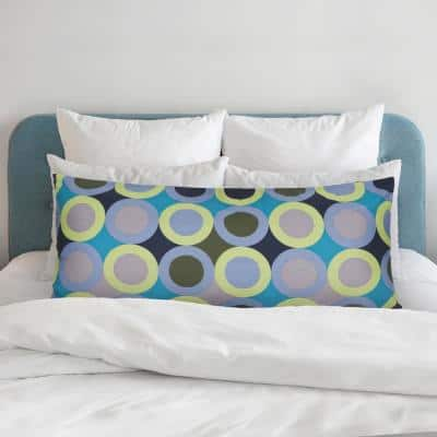 Circle Print Microfiber Body Pillow Protector