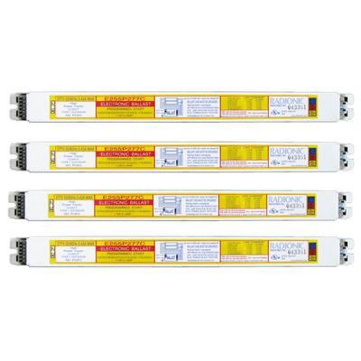 54-Watt 1-Lamp High Power Factor Electronic Replacement Ballast (4-Pack)