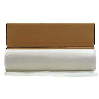 20 ft. x 100 ft. Clear 10 mil Plastic Sheeting (12 Rolls/Pallet)