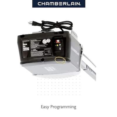 1/2 HP Heavy-Duty Chain Drive Garage Door Opener