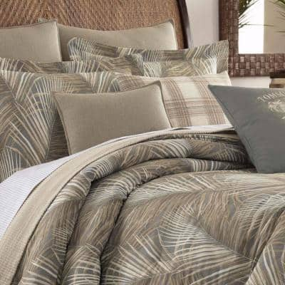 Raffia Palms Botanical Cotton Comforter Set