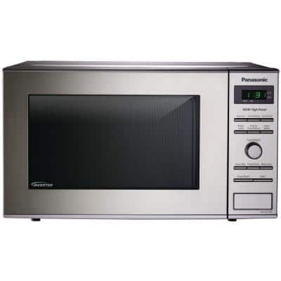 0.8 cu. ft. Countertop Microwave in Stainless Steel with Inverter Technology