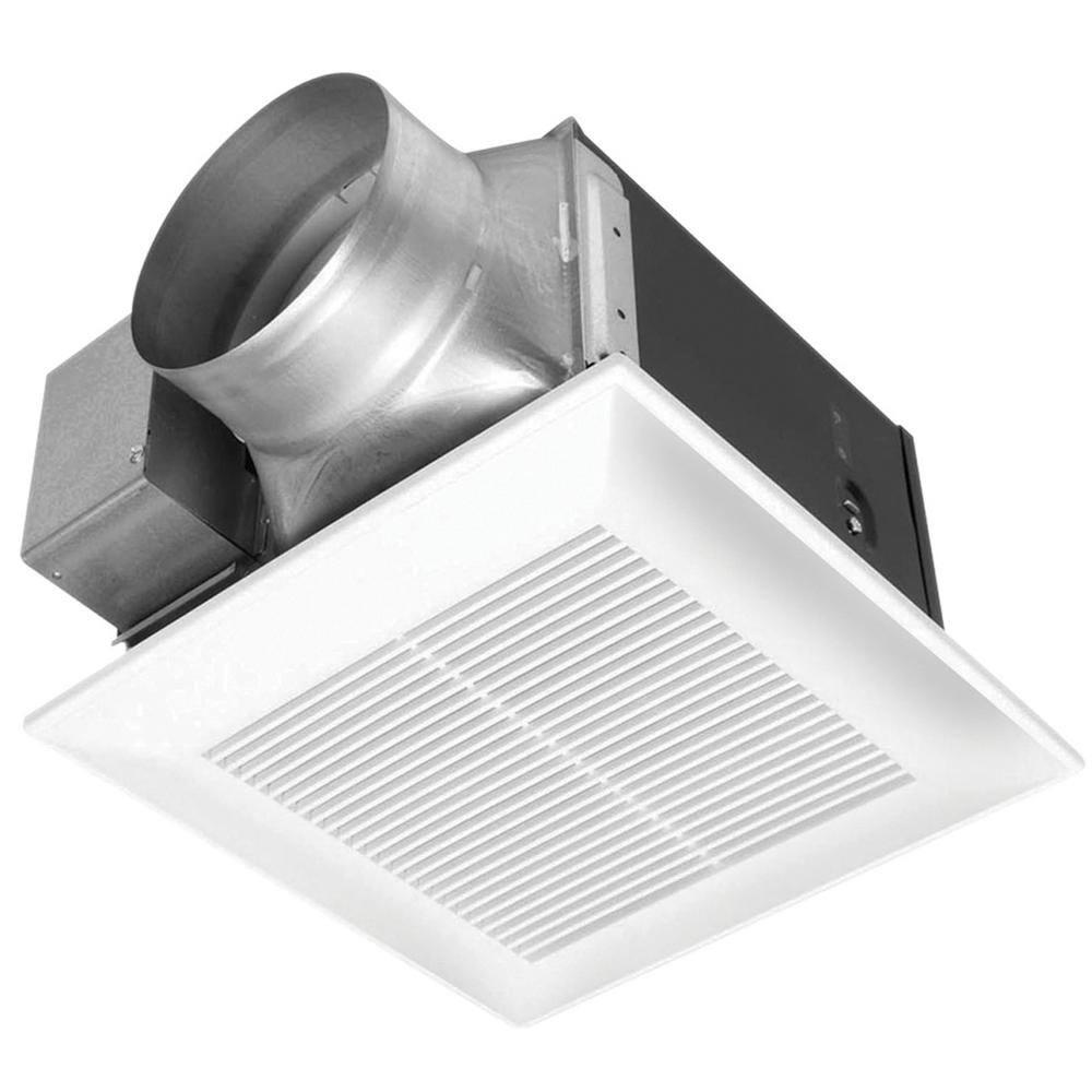 Panasonic Whisperceiling 190 Cfm Ceiling Surface Mount Bathroom Exhaust Fan Energy Star Fv 20vq3 The Home Depot