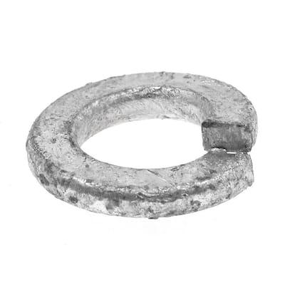 5/16 in. Hot Dip Galvanized Steel Medium Split Lock Washers (50-Pack)