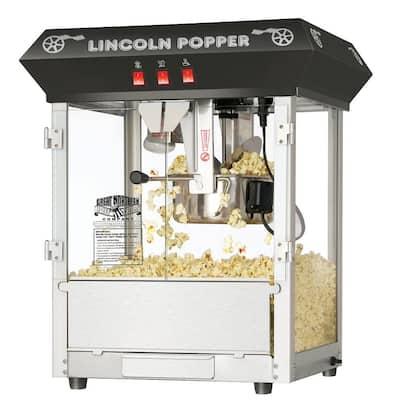 Lincoln 8 oz. Antique Black Countertop Popcorn Machine