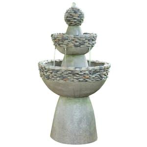 Polyresin 3 Tier Garden Fountain