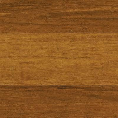 Strand Woven Harvest 3/8 in. T x 4.92 in. W x 36.02 in. L Engineered Click Bamboo Flooring