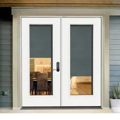 Reliant Micro Blind Collection Fiberglass Door