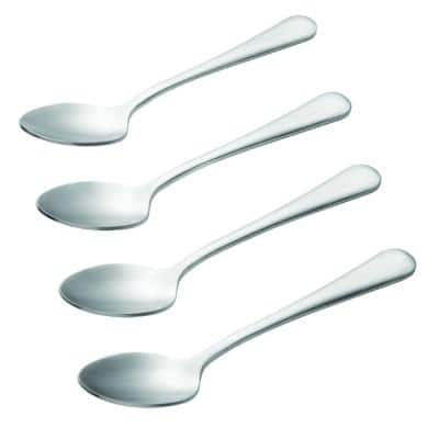 Coffee Accessories 4-Piece Stainless Steel Demitasse Spoon Set