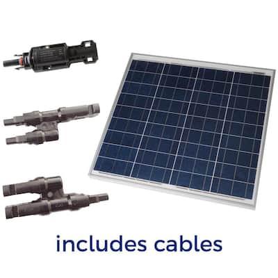50-Watt Off-Grid Solar Panel Expansion Kit