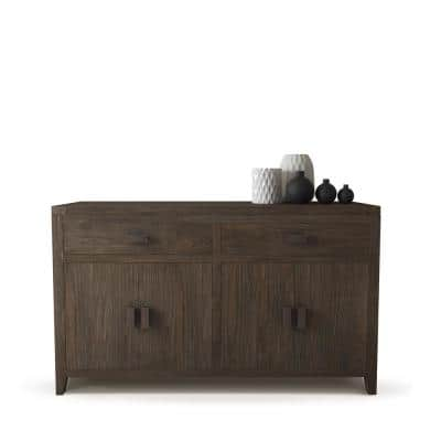 Brookside 60 in. Salvaged Espresso Dining Buffet