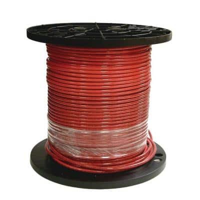 500 ft. 8 Red Stranded CU SIMpull THHN Wire
