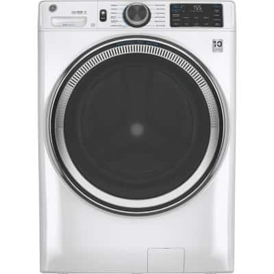 4.8 cu. ft. White Front Load Washing Machine with OdorBlock UltraFresh Vent System with Sanitize and Allergen