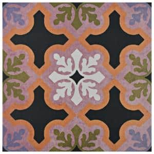 Egeo Quios Encaustic 9-3/4 in. x 9-3/4 in. Porcelain Floor and Wall Tile (11.11 sq. ft. / case)