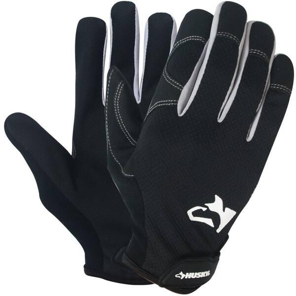 Husky X Large Light Duty Work Glove 10 Pack Pu8718 10p Xl O The Home Depot