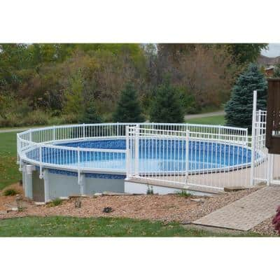 Premium Guard Above Ground Pool Fence Add-On Kit B (3 Spans)