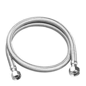 3/8 in. Compression x 1/2 in. FIP x 30 in. Braided Stainless Steel Faucet Supply Line