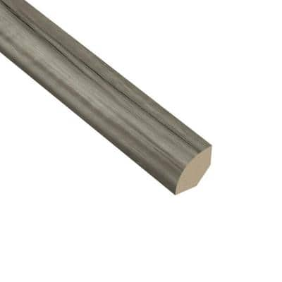 Acacia Smoke 5/8 in. Thick x 1 in. Wide x 94-1/2 in. Length Vinyl Quarter Round Molding