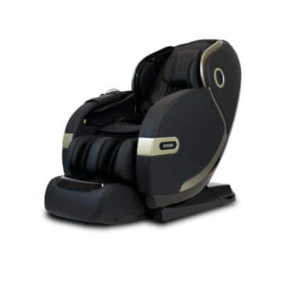 SM9300 Black 4D+@ Dual Air Float Flex HSL-Track with Infrared Heating Massage Chair
