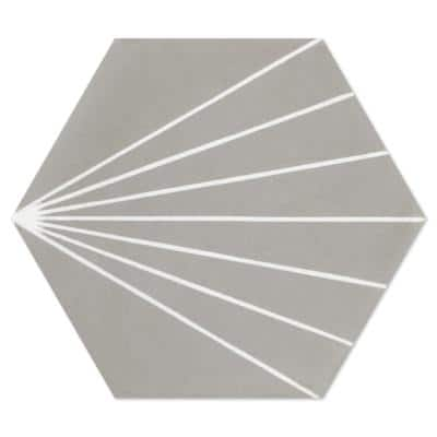 Spark C Winter 8 in. x 9 in. Cement Handmade Floor and Wall Tile (Box of 16/ 5.93 sq. ft.)