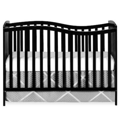 Chelsea 5-in-1 Black Convertible Crib