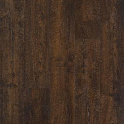 Outlast+ 6.14 in. W Java Scraped Oak Waterproof Laminate Wood Flooring (16.12 sq. ft./case)