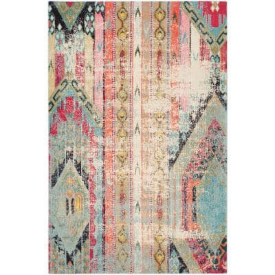 Monaco Multi 4 ft. x 6 ft. Area Rug