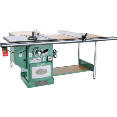 10 in. 3 HP 220-Volt Heavy-Duty Cabinet Table Saw with Ri-Volting Knife