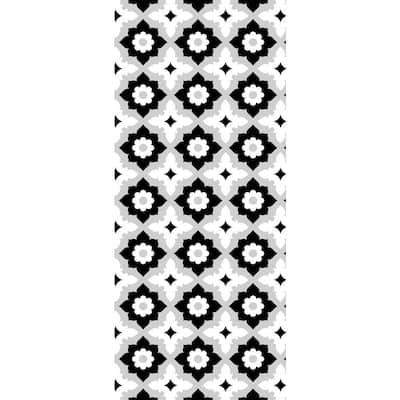 18 in. x 42 in. Non Slip Designer Kitchen Art Mat Long Vinyl Rug Decorative Floor Mat Runner